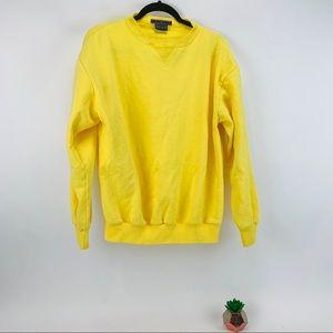 Vintage Levi's Pullover Sweatshirt Yellow Read